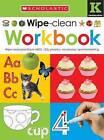 Wipe Clean Workbooks: Kindergarten by Scholastic (Hardback, 2015)