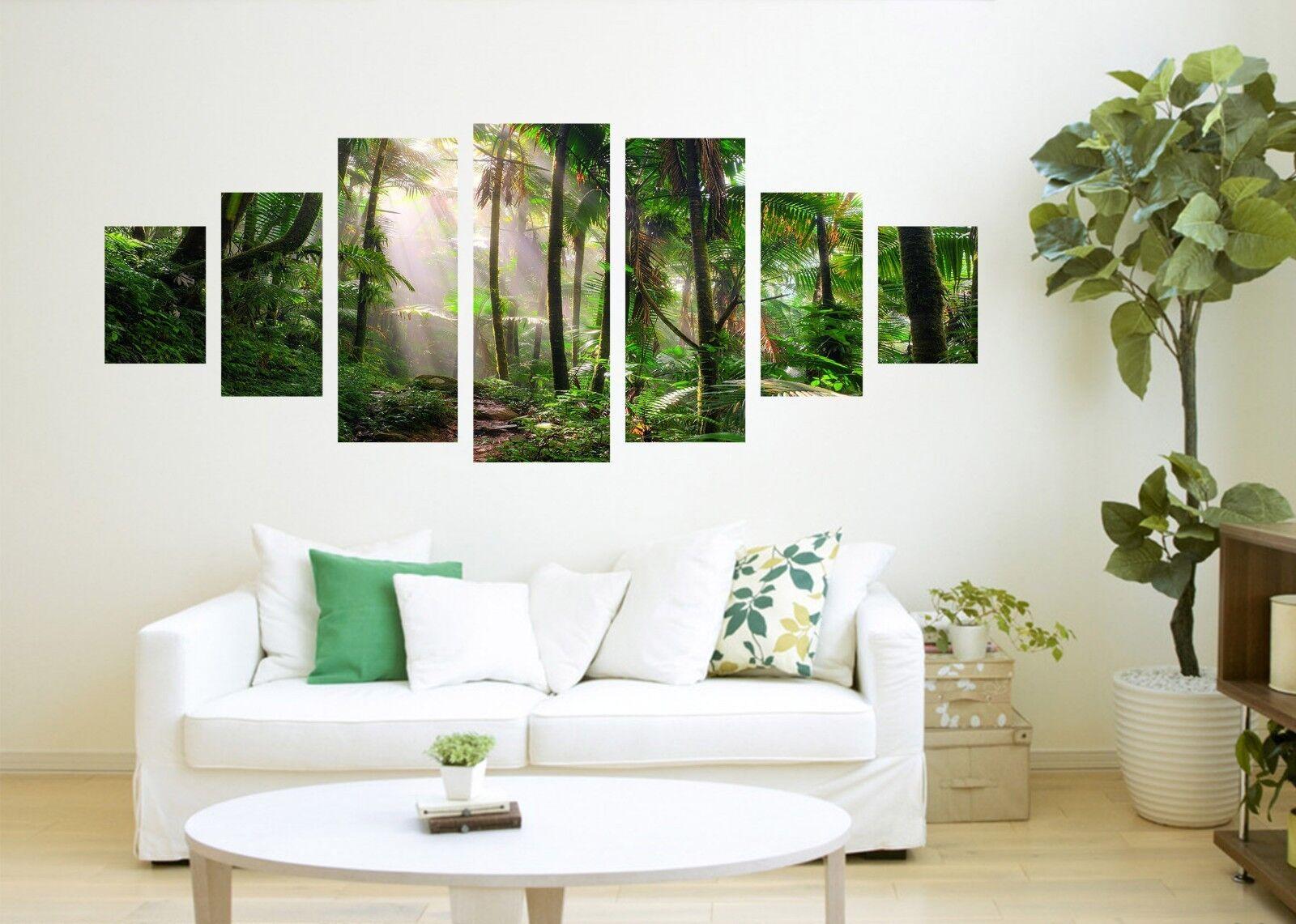 Bosque árbol de 3D 81 impresión sin enmarcar Papel de Parojo Calcomanía Decoración De Parojo Parojo Interior AJ Jenny