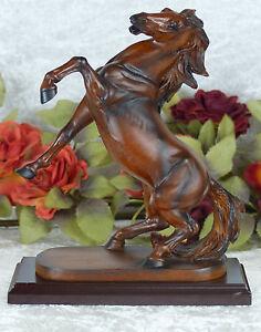 Pferd-Skulptur-Figur-Deko-Pferdefigur-Tierfigur-Statue-Hengst-Mustang-Circus-Neu