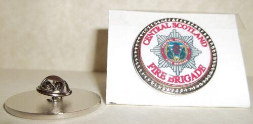 Central Scottish Fire Brigade Lapel pin badge