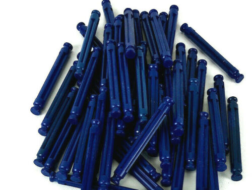 "KNEX 100 Dk Blue Rods 2 1//4/"" Length Standard Bulk Replacement Parts and Pieces"