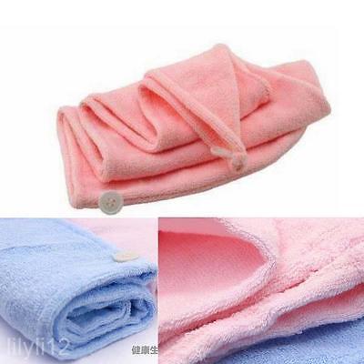 Nouveau cheveux séchage serviette bonnet de bain de haute absorbants cheveux