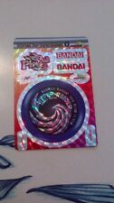 SUPER HYPER YOYO STATION BANDAI PRISM DOBLE  TRADING CARD