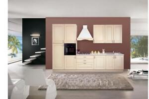Dettagli su Mobili cucina pensili colore decapè altezza 96 cm
