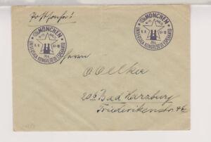 BUND-Postsache-SST-Muenchen-Esperanto-6-8-51-Faltbug