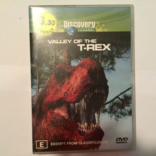 1 of 1 - Discovery - Valley Of The T-Rex (DVD, 2003) - DISK ONLY - NO CASE