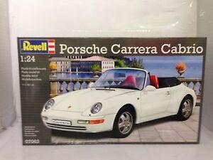 +++ Revell Porsche Carrera Cabrio 1:24 07063