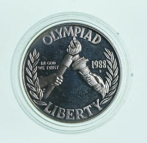 Proof-1988-S-Seoul-Olympiad-Commemorative-90-Silver-Dollar-Olympic
