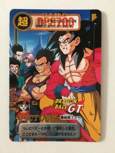 Dragon Ball GT Carddass Hondan PART 29-168