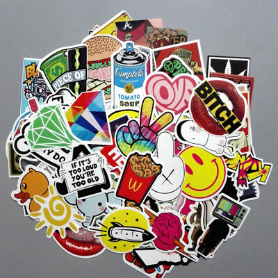 39 Skateboard Stickers Graffiti Attack on Titan bomb Vinyl Luggage Decals Mix