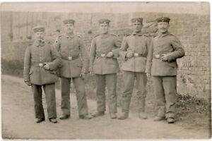 German Soldiers orig 1914 WW I Feldpost RPPC German Soldier's Mail