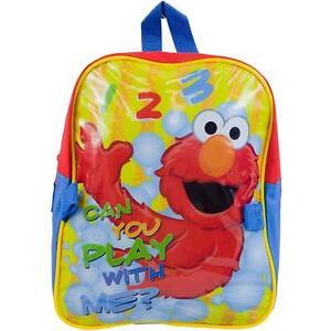 302b506ebef3 Elmo Sesame Street School Gift Kids Shoulder Pack Book Bag Backpack ...