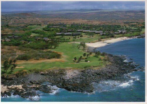 Hotel --- Postcard Kaluakoi Resort Aerial View Molokai Kepuhi Beach Hawaii
