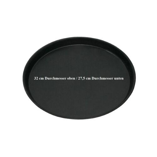 10 Pizzableche Profi 18 cm 50 cm Pizzapfanne Pizzablech Blaublech Pizzaform