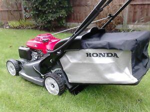 HONDA-HRX-476C-QXE-19-034-ROLLER-LAWNMOWER-BRAND-NEW-GENUINE-GRASS-BAG-FITTED