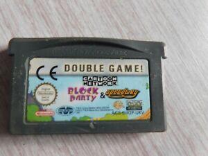 Gamboy-Spiel-Double-Game-Block-Party-und-Speedway
