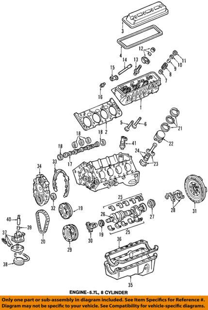 gm sprocket camshaft gear 5 7l v8 10128349 ebay rh ebay com Engine Camshaft in India Engine Drive Shaft Diagram