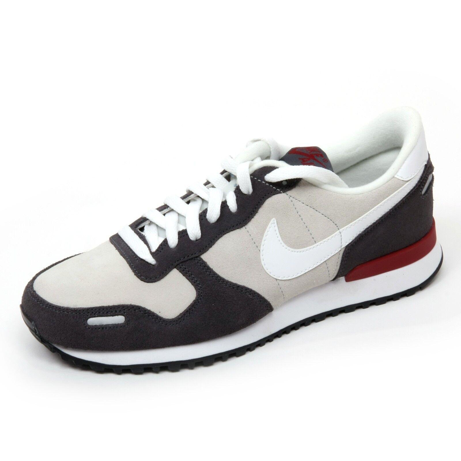 C0017 sneaker uomo NIKE AIR VORTEX LEATHER scarpa grigio/bianco shoe man
