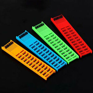 Fishing Rig Board Plastic Double Side Spring Hooks Storage Catch Holder Tackle