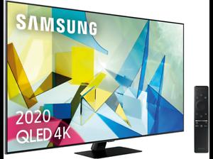 """TV QLED 55"""" - Samsung QLED 4K 2020 55Q80T, Direct Full Array HDR 1000, IA 4K UHD"""