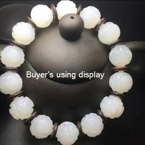 100pcs Bracelet Necklace Connector Beads Spacer Flange Coconut Shell Round Slice