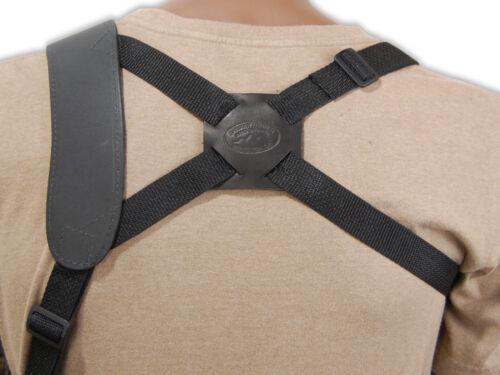 Beretta 380 UltraComp 9mm 40 45 Barsony Horizontal Shoulder Holster for Kahr