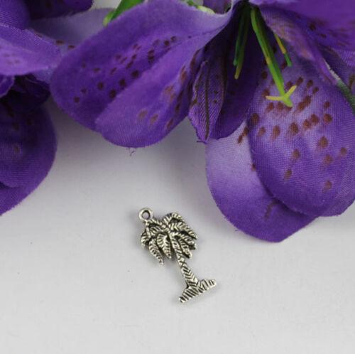 40pcs Tibetan silver Palm tree charms T17367 FREE SHIPPING