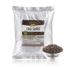 Chia Samen (Salvia hispanica) 100% natürlich aus Südamerika 1 kg Beutel