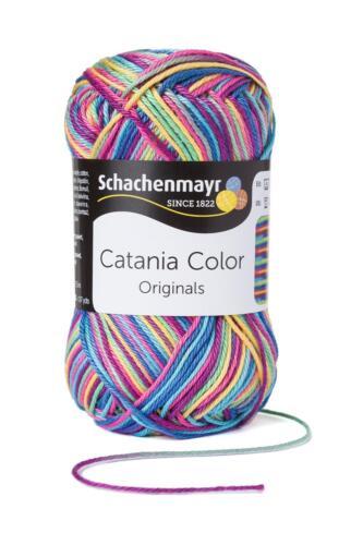 Aktion Catania color Wolle 50 g Schachenmayr stricken Baumwolle Häkeln Wolle