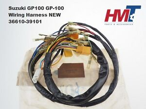details about suzuki gp100 gp 100 main wire harness,wiring harness 36610 39101 nos taiwan Wiring Harness Terminals and Connectors