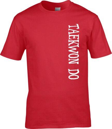 FREE PERSONALISED NAME Tae Kwon Do TKD  Martial Arts T Shirt