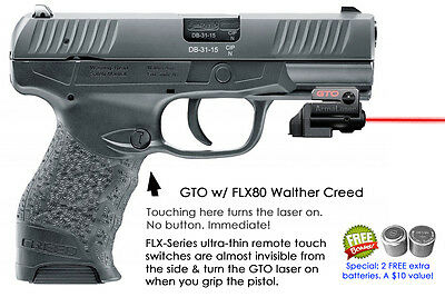 ArmaLaser GTO for Walther Creed - RED Laser Sight w/ FLX80 Grip Touch  Activation 768612093802 | eBay