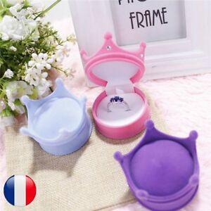 Boite-A-Bijoux-Pour-Bague-Boucle-D-039-oreille-Forme-Couronne-Correspondant-Cadeaux