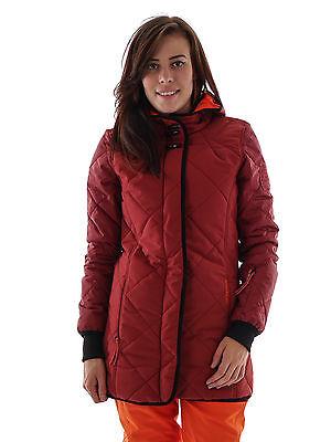 Brunotti Giacca Sci Inverno Giacca Jantano Rosso Trapunta Camouflage 5k Neve Pesca-mostra Il Titolo Originale
