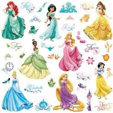 NEW DISNEY PRINCESS ROOM SCAPES WALL DECAL STICKERS POSTERS /& COLORING BOOK