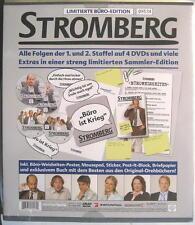 STROMBERG DIE BÜRO EDITION STAFFEL 1 & 2 - 4 DVD - OVP