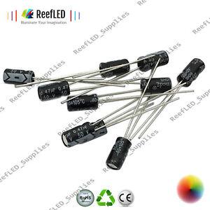 120pcs-Kit-12-VALEURS-0-22uf-470uf-Aluminium-Condensateur-electrolytique