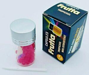 NEW FRUTTA Tropicool Flavoured Slim & Regular Capsules 100 Pcs Push & Enjoy