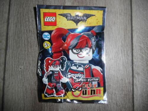 Lego Batman Harley Quinn Limited edition Polybag Neuf neuf dans sa boîte
