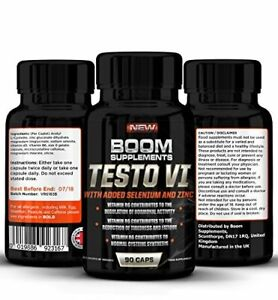 Testosterone Booster for Men #1 Proven Testosterone Supplement 19886923167 eBay