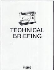 VIKING HUSQVARNA REPAIR MANUAL SEWING 1040-6440 + BONUS on CD in PDF format