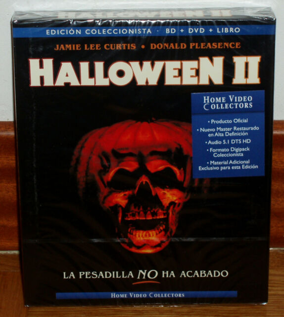 HALLOWEEN II EDICION COLECCIONISTA DIGIPACK BLU-RAY+DVD+LIBRO NUEVO (SIN ABRIR)