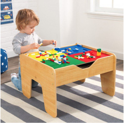 2 in 1 Activity Table with board ~ Train Set & Blocks by Kidkraft