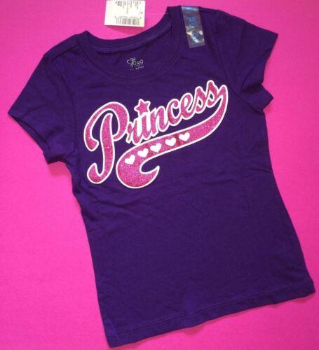 Purple Birthday ~NEW~ PRINCESS Girls Graphic Shirts 4 4T 5-6 7-8 10-12 14 Gift
