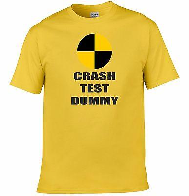 Bellissimo Crash Test Manichino Divertente Tee T-shirt Top Tumblr Novità Regalo Di Natale Babbo Natale Segreto-mostra Il Titolo Originale