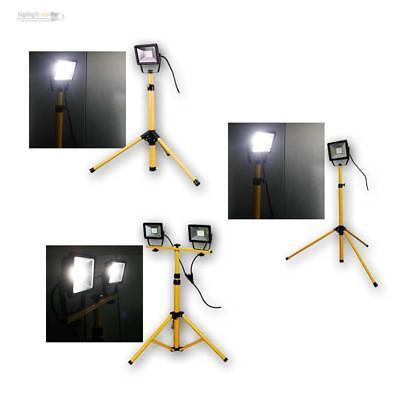 LED Lampe mit Stativ   S&P trading