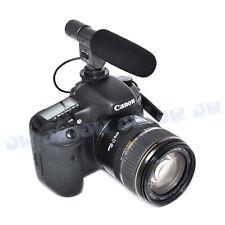 JJC Microphone for Canon EOS M 60D 5D2 700D 6D 70D 650D 600D T4I T3i T2i Camera