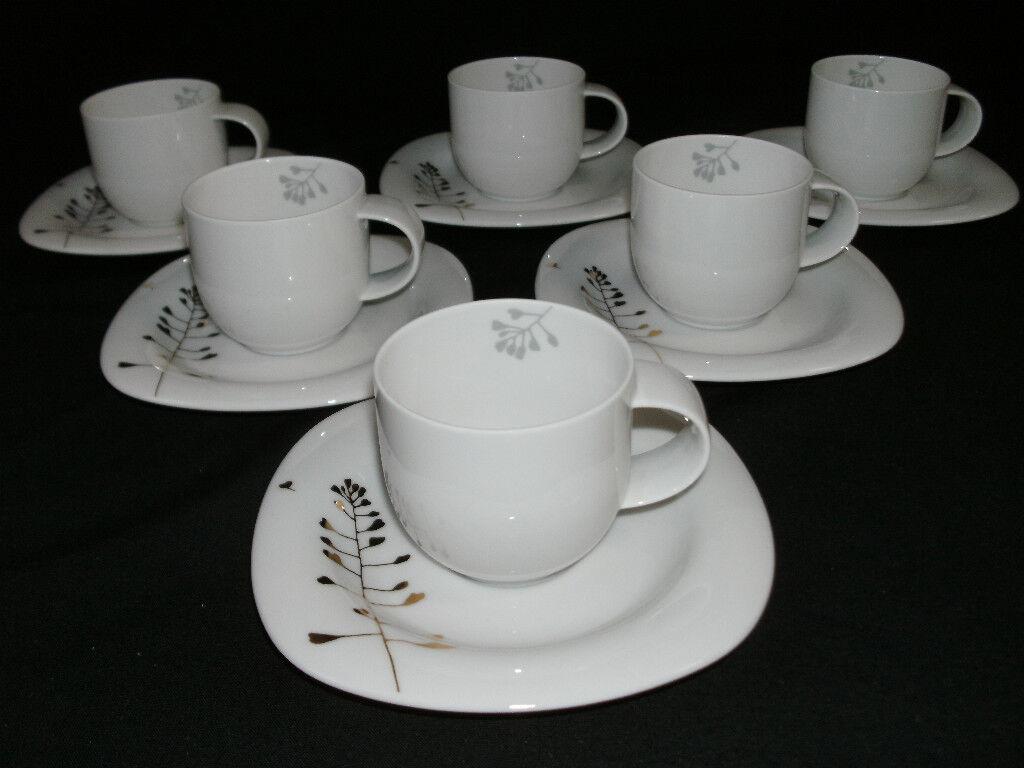 pinknthal SUOMI CELEBRATION 6 Set's  Espressotassen mit Untertassen NWahl