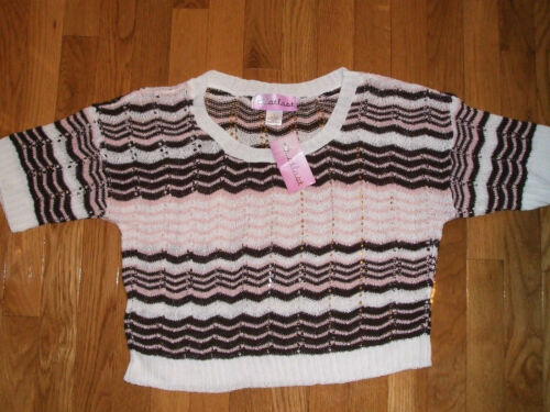 NWT Women/'s Sweater//Coverlet by ....At Last; Size S M XL L