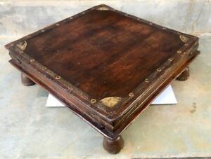 Image Is Loading 1890 039 S Antique Wood Hand Carved Br